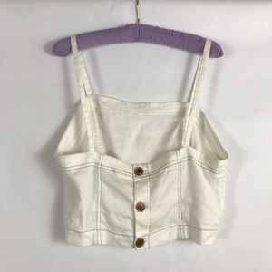 Anthropologie Akemi + Kim Crop Top SZ 12